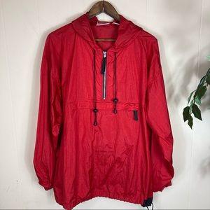 90's Vintage Marlboro Windbreaker Jacket Size L